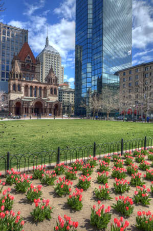 back bay: Copley Square is a public square in Back Bay Boston, Massachusetts.