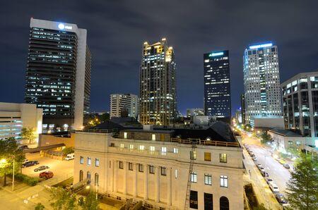metropolitan: Metropolitan Skyline of downtown Birmingham, Alabama, USA. Stock Photo