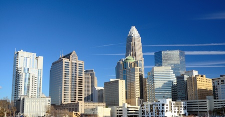 Uptown Charlotte, North Carolina Cityscape