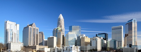 Uptown Charlotte, North Carolina Cityscape Stock Photo - 13596210