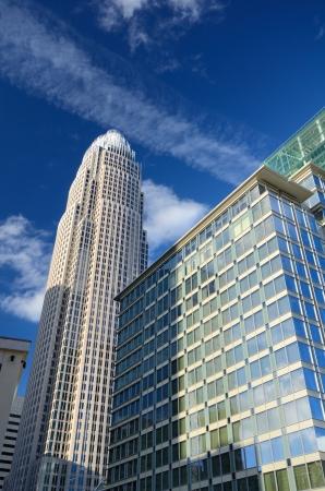 bank of america: Charlotte, North Carolina Landmark Skyscrapers