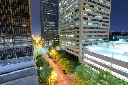 alabama: Urban scen along 5th Ave in downtown Birmingham, Alabama.