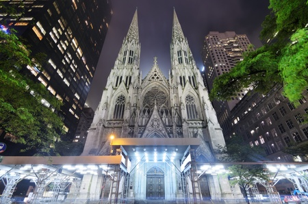 St. Patrick's Cathedral in New York City Stock Photo - 13839389