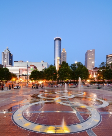 ATLANTA - JUNE 2: Centennial Olympic Park