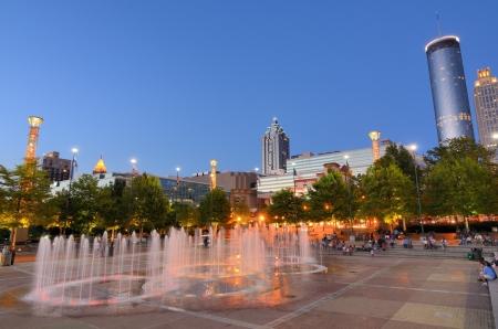 ATLANTA - JUNE 2: Centennial Olympic Park
