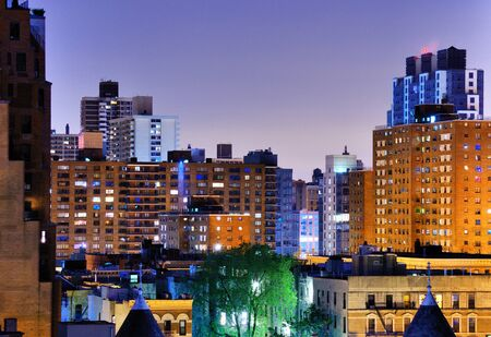 Upper West Side apartment buildings in New York City photo