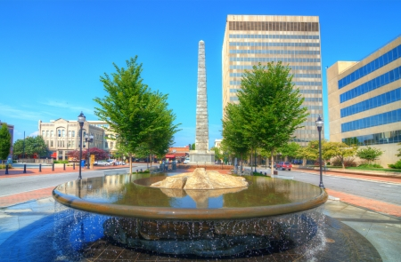 asheville: Pack Square in downtown Asheville, North Carolina, USA Editorial