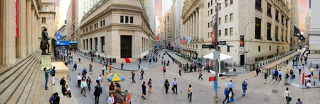 NEW YORK CITY - MAY 22: New York Stock Exchange May 22, 2012 in New York, NY. With origins as far back as 1792, the NYSE is currently the worlds largest exchange by market capitalization.