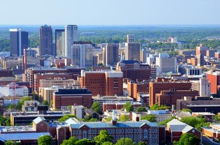 Skyline of downtown Birmingham, Alabama, USA.