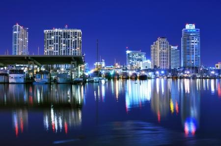 fl: Skyline of St  Petersburg, Florida