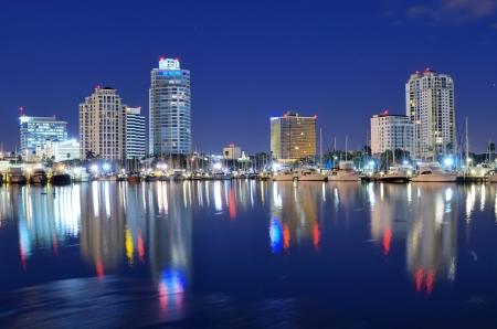 st  pete: Skyline of St  Petersburg, Florida