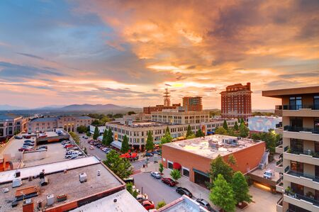 Downtown Asheville, North Carolina at Grove Arcade photo
