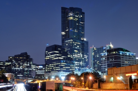 skylines: Buckhead is the uptown district of Atlanta, Georgia, USA.