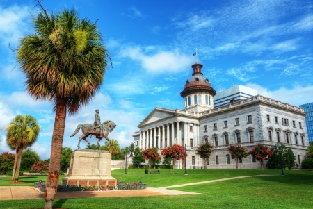 The South Carolina State House in Columbia. Editorial