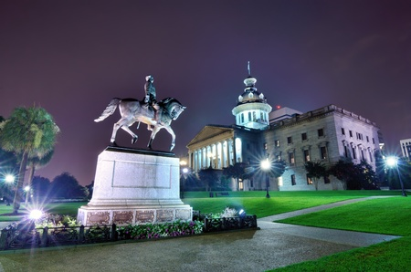 columbia: The South Carolina State House in Columbia. Editorial