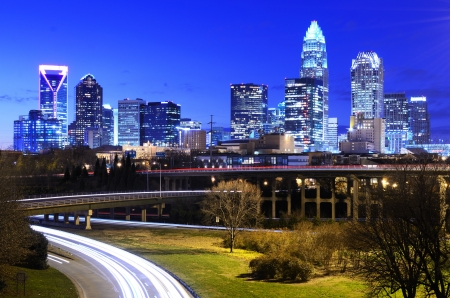 Downtown Charlotte, North Carolina, USA skyline photo