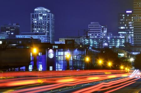 carolina del sur: Gervais Street Bridge cruce en el centro de Columbia, Carolina del Sur