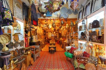 palestinian: Objects for sale in a Jersualem Market