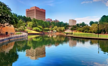 columbia: Finlay Park in Columbia, South Carolina