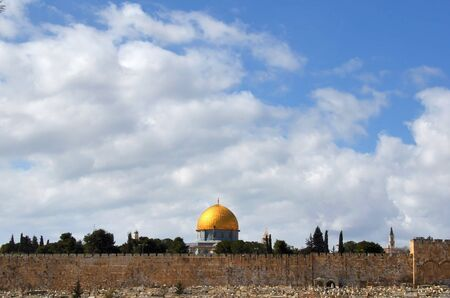 Dome of the Rock in Jerusalem, Israel. photo