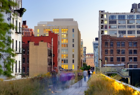 new: The High Line in New York City