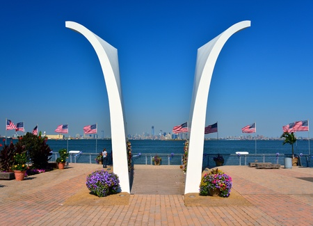 STATEN ISLAND - SEPTEMBER 12: Postcards Memorial September 12, 2012 in Staten Island, NY. The memorial honors the 274 residents of Staten Island who lost their lives int he World Trade Center attacks.