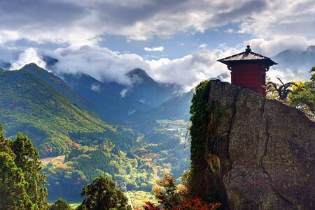 valley of the temples: Yamadera is a mountain temple