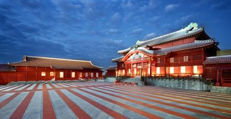 Shuri Castle in Okinawa, Japan