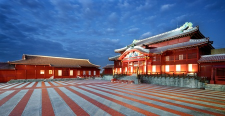 Shuri Castle in Okinawa, Japan