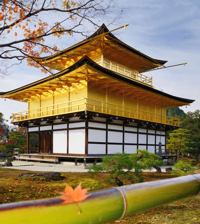 November 28: Kinkakuji Temple of the Golden Pavilion in Kyoto, Japan.
