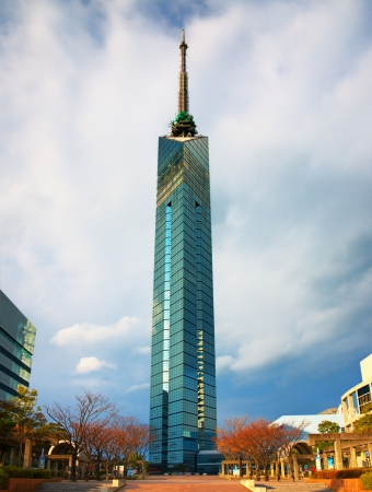 December 7: Fukuoka Tower in Fukuoka, Japan.