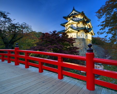 clan: October 27  Hirosaki Castle in Hirosaki, Japan  The castle dates from 1611 and was the seat of the Tsugaru Clan