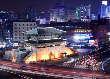 Seoul, South Korea at Namdaemun Gate