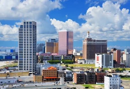 city hotel: Resort high rises in Atlantic City, New Jersey. Stock Photo
