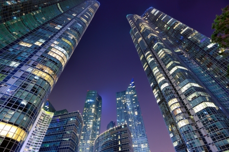 Modern cityscape of Busan, South Korea.