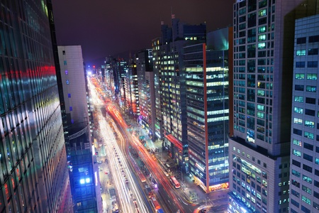 Gangnam District of Seoul, South Korea. Stock Photo - 18328374