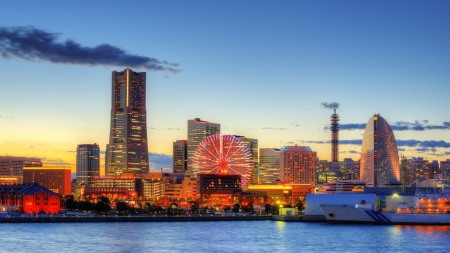 Yokohama, Japan skyline photo