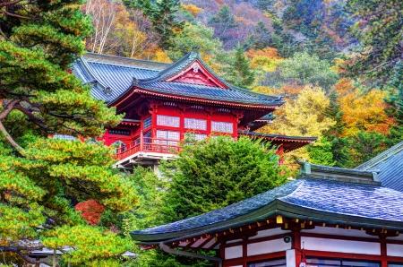 Chuzen-ji Temple in Nikko, Tochigi, Japan.   photo