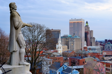 Providence, Rhode Island was one of the first cities established in the United States. Stock Photo - 19269866