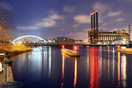 atlanta: Providence River in Providence, Rhode Island Stock Photo