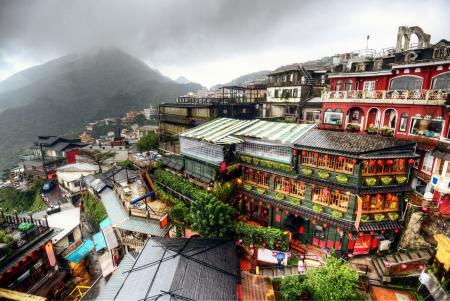 taipei: Hillside teahouses in Jiufen, New Taipei, Taiwan