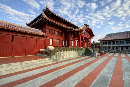 Shuri Castle in Okinawa, Japan.