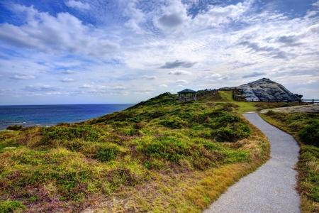 Landscape on the island of Tokashiki, Okinawa, Japan.