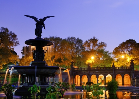 bethesda: Bethesda Terrace and fountain in New York City.