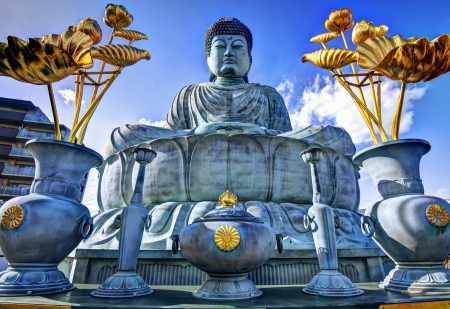 BIg Buddha of Hyogo in Kobe, Japan. photo