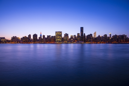 Midtown Manhattan skyline across the East River in New York City. Stock Photo - 20832850