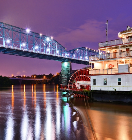 showboat: Showboat on the Tennessee River in Chattanooga, Tennessee.