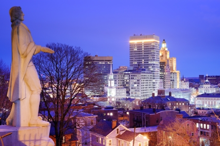 Providence, Rhode Island Downtown Skyline