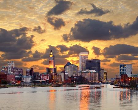 providence: Providence Rhode Island skyline.