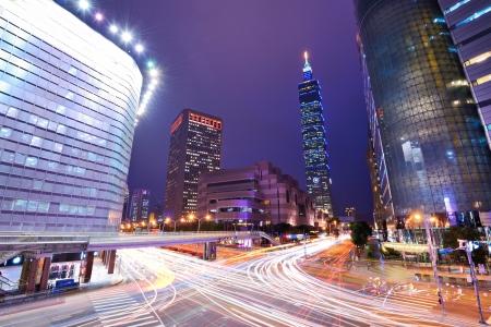 taipei: Taiwan, Taipei cityscape at the Xinyi District.